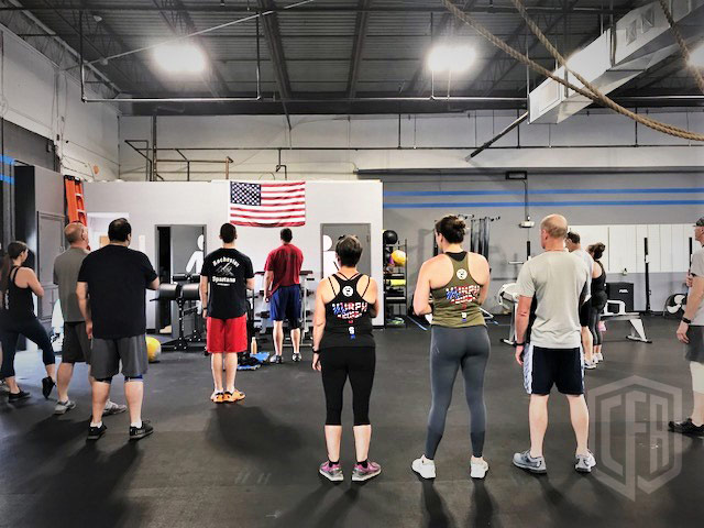 WOD: Wednesday 7/4/18