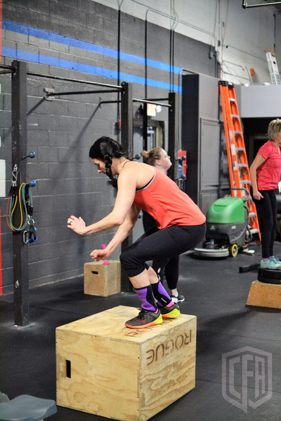 WOD: Wednesday 4/3/19
