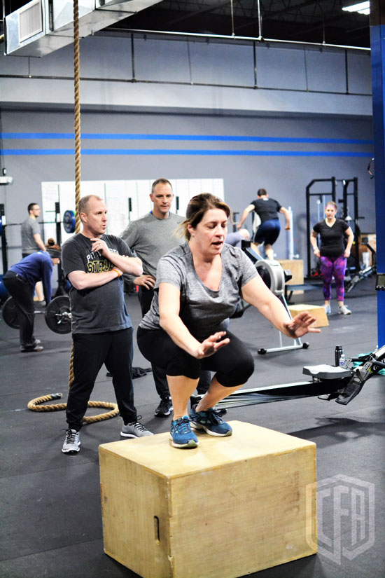 WOD: Tuesday 4/9/19