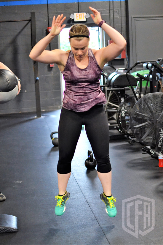 WOD: Friday 6/7/19
