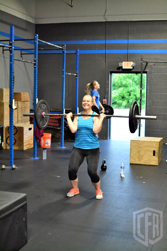 WOD: Tuesday 7/2/19